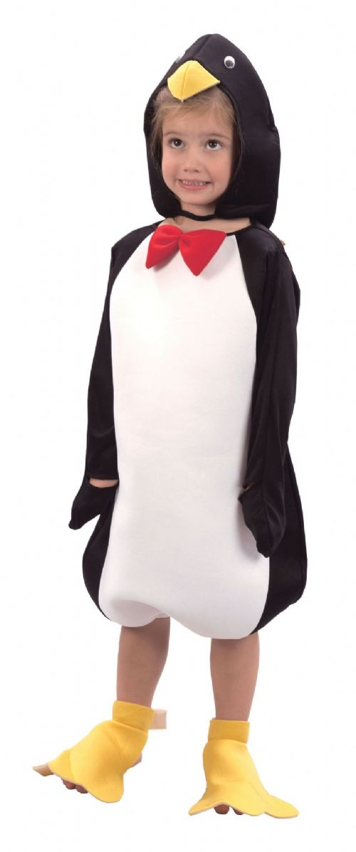 Childs Penguin Toddler Costume Artic Pole Animal Sea Bird Fancy Dress Outfit